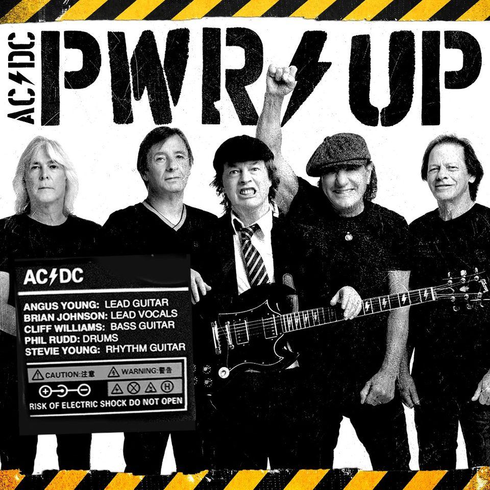 AC/DC nouvel album Pwr/up