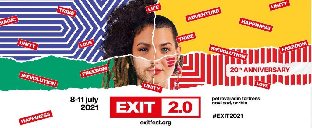 Exit Festival optimiste pour juillet 2021 à Novi Sad en Serbie