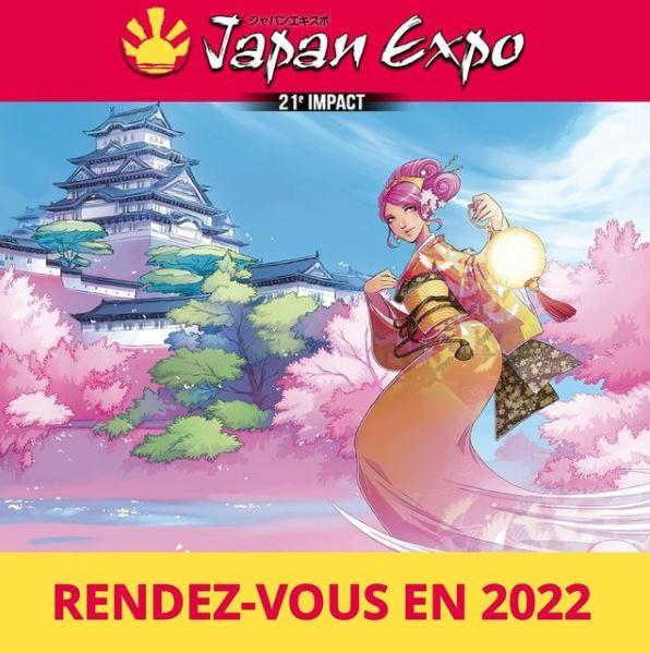 Japan Expo 21ème Impact du 14 au 17 juillet 2022 au Parc des Expositions Paris-Villepinte