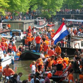 Fête du Roi à Amsterdam