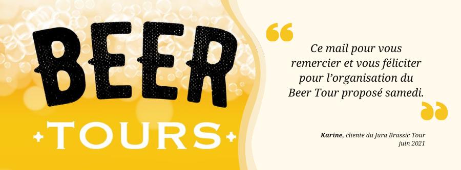 avis Beer Tour merci feliciter