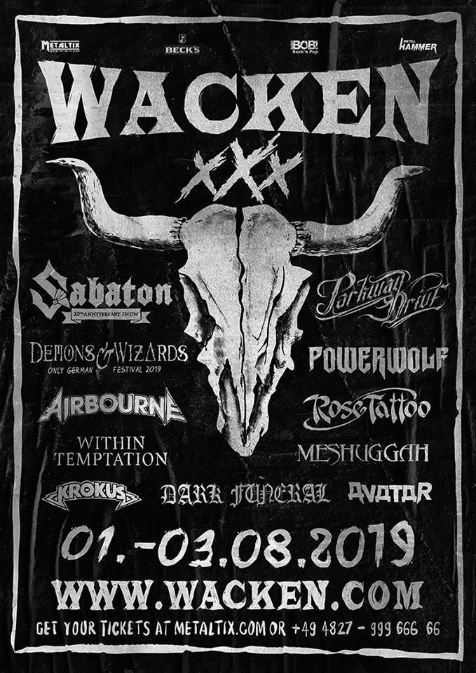 wacken 2019 programm