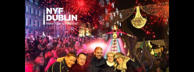 Nouvel An à Dublin